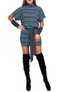 Платье с поясом Majaly