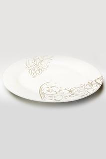 """Фруктовая тарелка""""Черный ирис"""" Ceramiche Viva"""