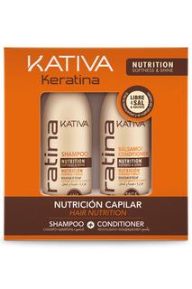 Набор: шампунь, кондиционер Kativa