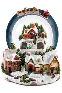 Шар водяной со снегом Christmas