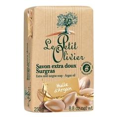LE PETIT OLIVIER Мыло нежное питательное с маслом Аргана 250 г