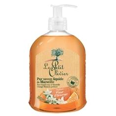 LE PETIT OLIVIER Мыло жидкое марсельское Цветок апельсина 300 мл