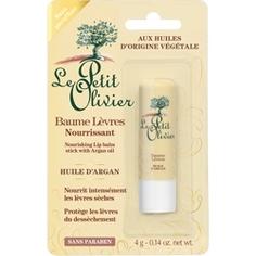 LE PETIT OLIVIER Бальзам для губ питательный c маслом Арганы 4 г