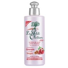 LE PETIT OLIVIER Kрем для окрашенных и/или мелированных волос с экстрактом Граната и маслом Арганы, без смывания 200 мл