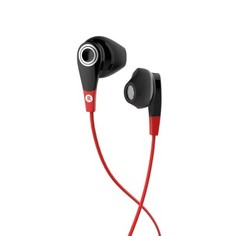 Наушники С Микрофоном Onear 300 Sports - Чёрный/красный Geonaute