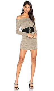 Платье со спущенными плечами jimmy - Riller & Fount