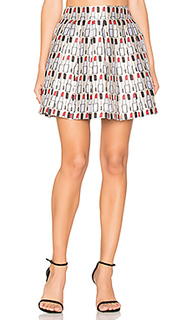 Fizer pleat mini skirt - Alice + Olivia