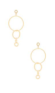 Hoop link earring - Ettika