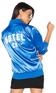 Атласная куртка-бомбер hotel - Hotel 1171