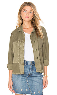 The reversed military shirt jacket - Current/Elliott