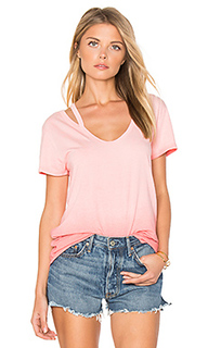 Split v neck tee - Pam & Gela