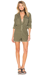 The reversed military romper - Current/Elliott