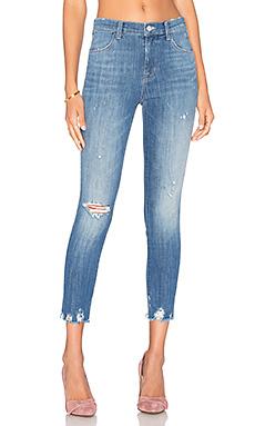 Облегающие джинсы с высокой посадкой alana - J Brand