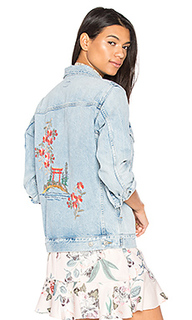Embroidered boyfriend jacket - Citizens of Humanity