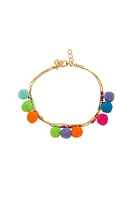 Savanna pom pom bracelet - Rebecca Minkoff