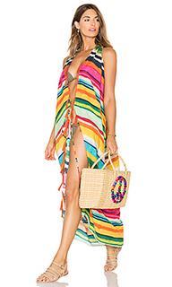 Платье с глубоким v-образным вырезом - Lenny Niemeyer