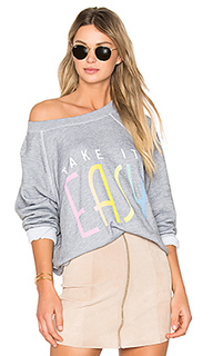 Топ take it easy - Wildfox Couture