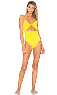 Цельный купальник с завязкой спереди - Mara Hoffman