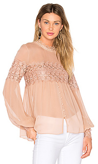 Balloon sleeve top - NICHOLAS