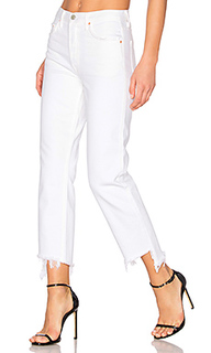 Helena high-rise straight crop jean - GRLFRND