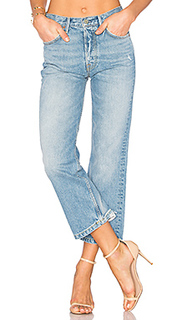 Linda high-rise pop crop jean - GRLFRND