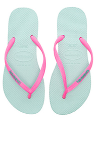 Slim logo pop-up sandal - Havaianas