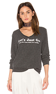 Топ lets just go - Wildfox Couture