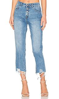 Прямые джинсы высокой посадки patti - DL1961
