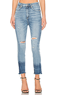 Ruby super high rise slim straight - AGOLDE