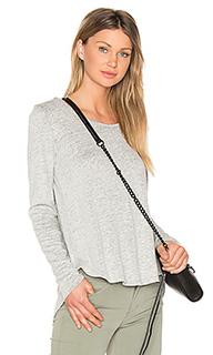 Linen jersey y back hoodie - Bobi