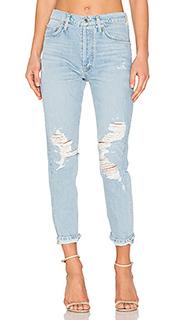 Классические джинсы высокой посадки jamie - AGOLDE