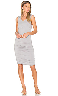 Modal jersey ruched mini dress - Bobi