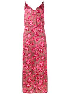 платье с цветочным узором Zimmermann