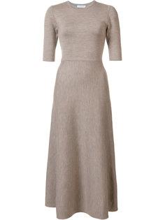 расклешенное платье миди Gabriela Hearst