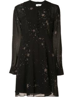 платье с принтом звезд A.L.C.