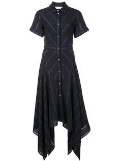 платье-рубашка с короткими рукавами Prabal Gurung