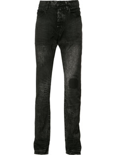 джинсы прямого кроя Prps