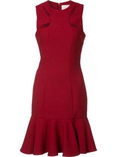 платье с вырезными деталями Cinq A Sept