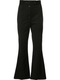 расклешенные укороченные брюки  Proenza Schouler