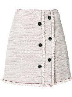 юбка с пуговичной отделкой Proenza Schouler