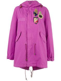 пальто Bouganville с нашивками  Mr & Mrs Italy