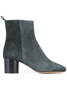 выбеленые ботинки  Isabel Marant Étoile