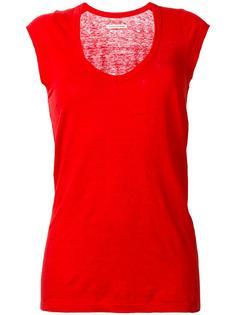футболка с рукавами-кап Isabel Marant Étoile