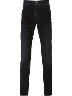 джинсы кроя слим   Saint Laurent