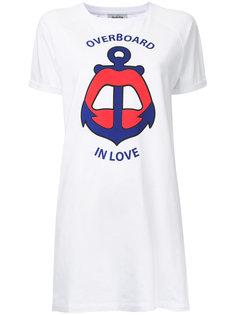 "платье-футболка ""Overboard In Love"" Yazbukey"
