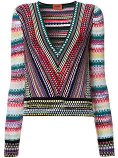 вязаная блузка  Missoni