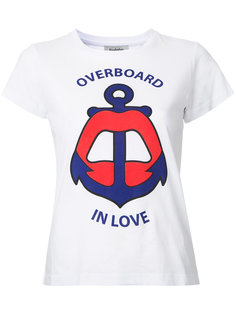 "футболка ""Overboard In Love"" Yazbukey"