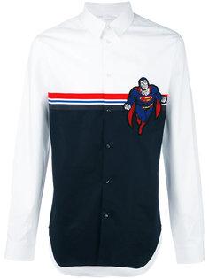 рубашка с контрастными полосками   Iceberg