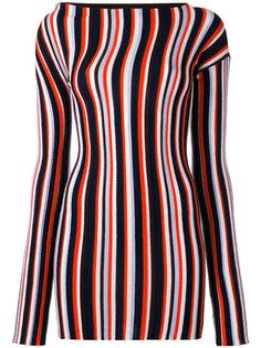платье мини в полоску Jacquemus