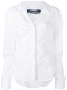 рубашка со сборками Jacquemus